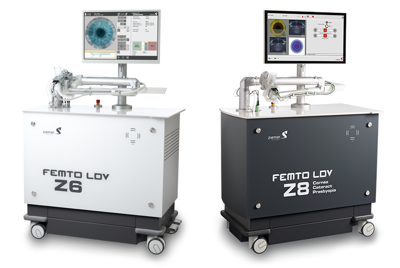 "Lasers Femtoseconde ZIEMER ""LDV Z6"" et ""LDV Z8"" Crédits photos ©Ziemer"